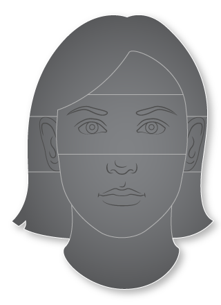 Woman Head and Face
